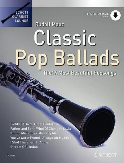 Classic Pop Ballads - Klarinette