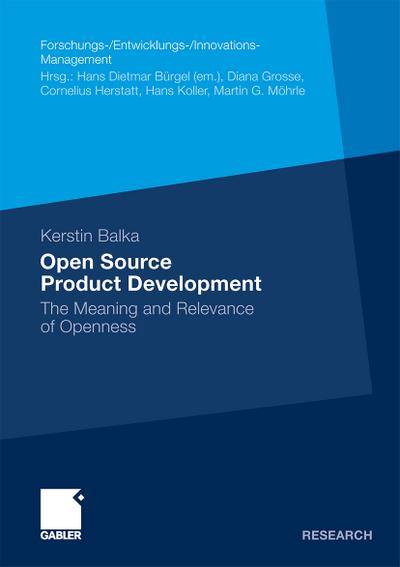Open Source Product Development