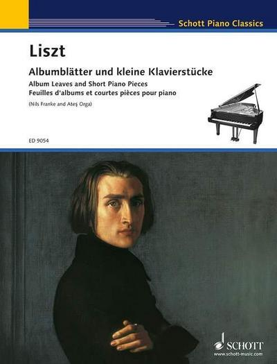 Albumblätter und kleine Klavierstücke