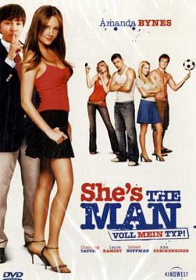 She`s the Man - Voll mein Typ! - STUDIOCANAL - DVD, Englisch| Deutsch, William Shakespeare, Deutsch, Deutsch