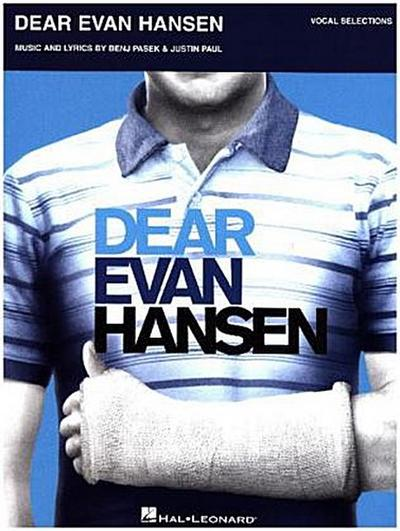 Dear Evan Hansen, Vocal Selections, Piano, Voice & Guitar Book
