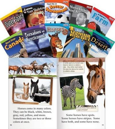 Time for Kids Informational Text Grade 2 Readers Set 2 10-Book Set (Time for Kids Nonfiction Readers)