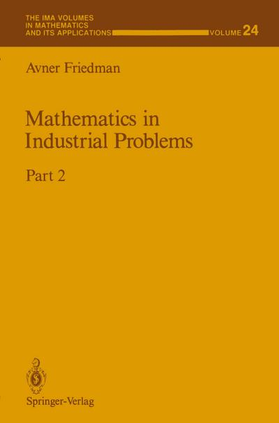 Mathematics in Industrial Problems