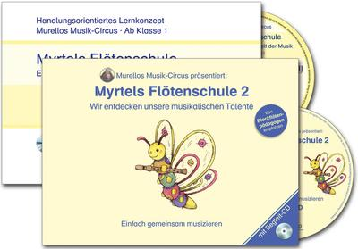 Paket: Flötenschule Band 1 und 2
