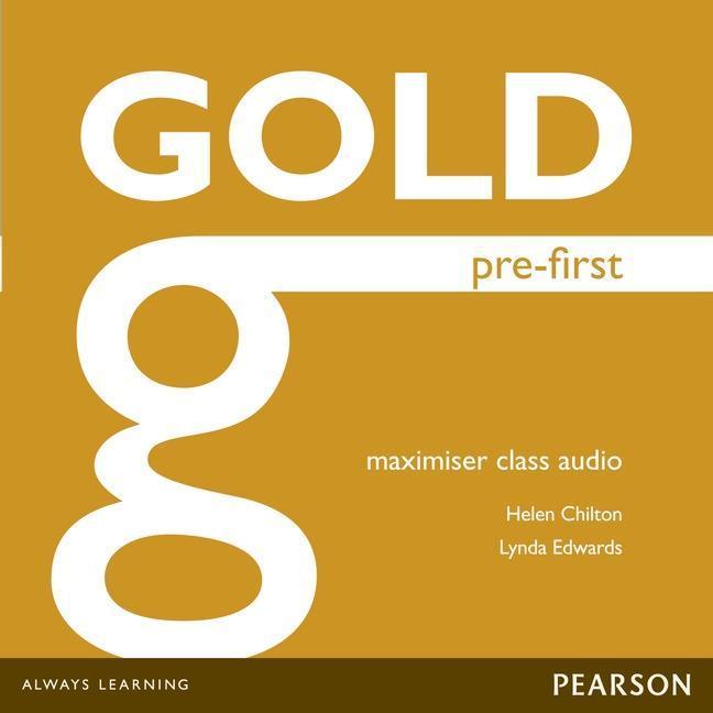 Gold Pre-First Maximiser Class Audio CDs