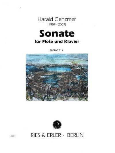 Sonatefür Flöte und Klavier