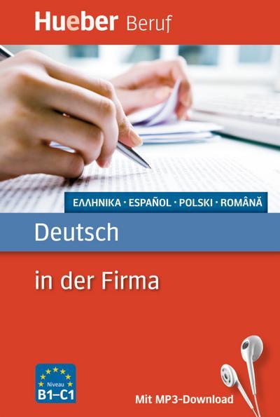 Berufssprachführer: Deutsch in der Firma