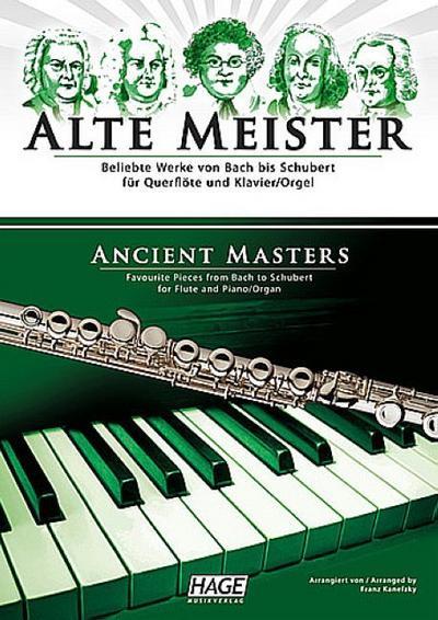 Alte Meister für Flöte und Klavier (Orgel)