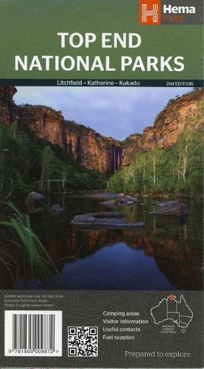 Top End National Parks 1 : 350 000