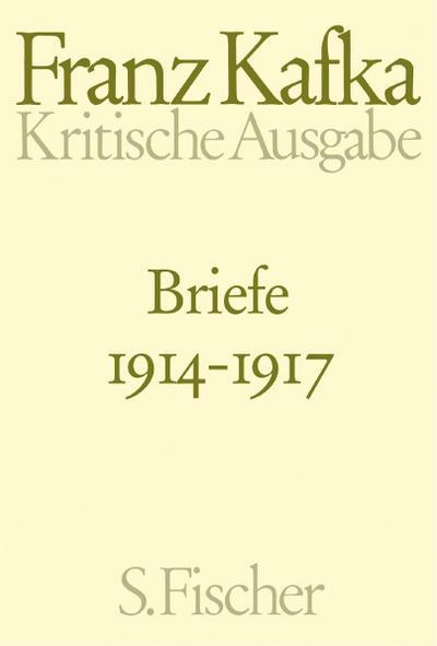 Briefe 1914 - 1917
