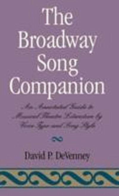 The Broadway Song Companion