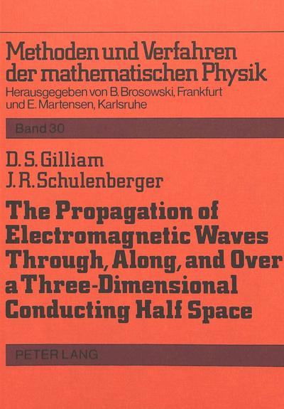 The Propagation of Electromagnetic Waves Through, Along and Over a Three-Dimensional Conducting Half Space