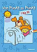 Von Punkt zu Punkt 1 bis 30; Malen nach Zahlen ab 6 Jahren; Von Punkt zu Punkt; Ill. v. Jovanovic, Olivera; Deutsch; schw.-w.