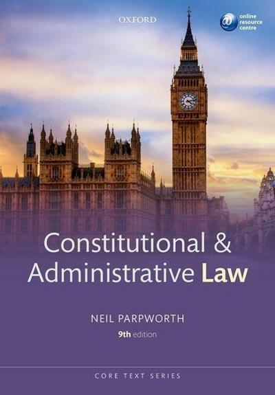 Constitutional & Administrative Law (Core Texts)