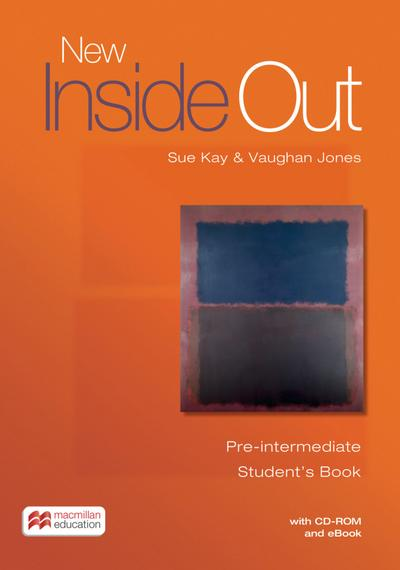 New Inside Out. Pre-Intermediate / Student's Book with ebook and CD-ROM