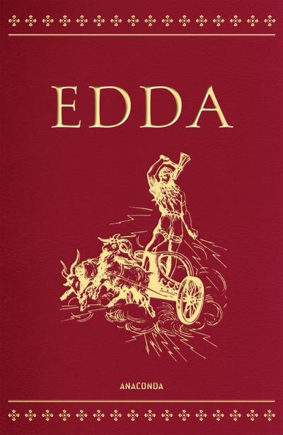 Edda - Die Götter- und Heldenlieder der Germanen (Cabra-Lederausgabe)
