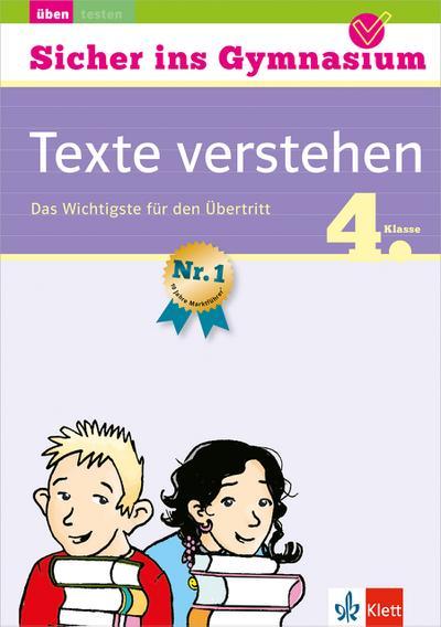 Sicher ins Gymnasium Deutsch Texte verstehen 4. Klasse