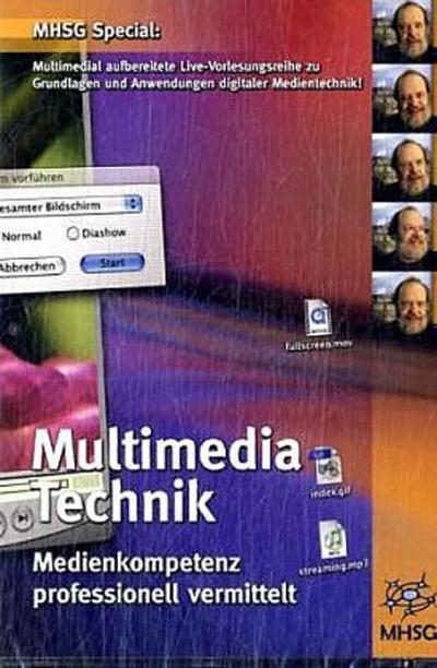 Multimedia-Technik, CD-ROM Medienkompetenz professionell vermittelt - Mhsg - CD-ROM, Deutsch, Wolfgang Coy, Medienkompetenz professionell vermittelt, Medienkompetenz professionell vermittelt