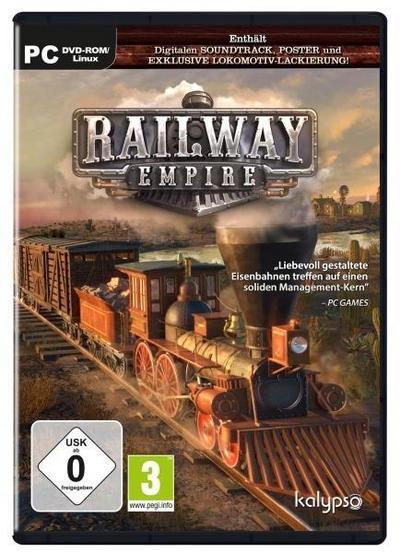 Railway Empire. Für Windows 7/8/10 (64-Bit)