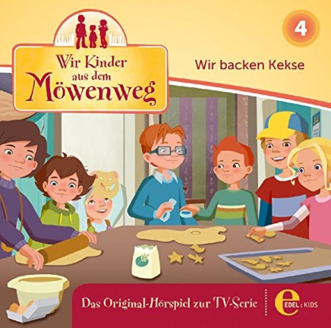 Wir Kinder aus dem Möwenweg 04. Wir backen Kekse,