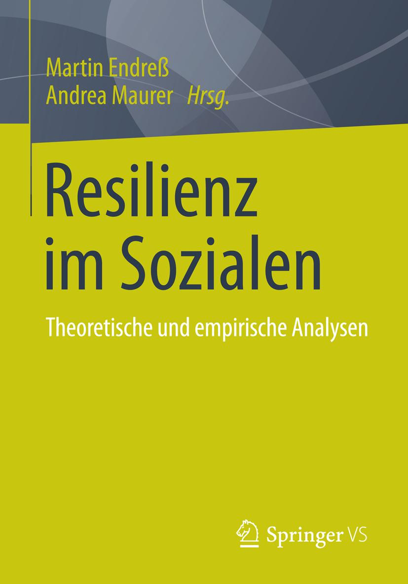 Martin Endreß / Resilienz im Sozialen 9783658059989