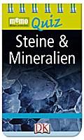 memo Quiz. Steine & Mineralien; memo Quiz; Deutsch; durchgehend mit Farbfotografien und Illustrationen; Nicht für Kinder unter 3 Jahren geeignet. Erstickungsgefahr wegen verschluckbarer Kleinteile.