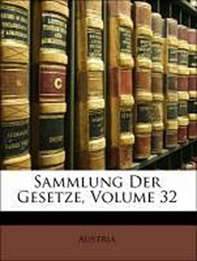 Sammlung Der Gesetze, Zwen und drenssigster Band