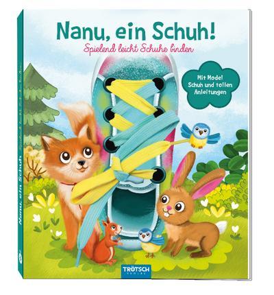 Trötsch Nanu, ein Schuh Schnürsenkelbuch