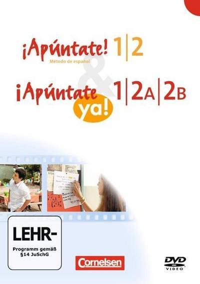 ¡Apúntate! - Ausgabe 2008 - Band 1/2 - Video-DVD