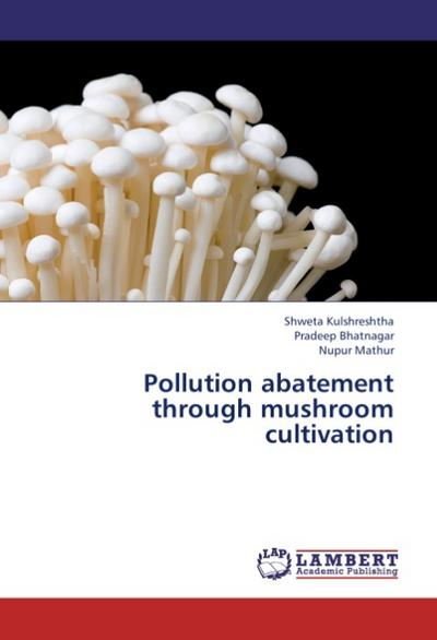 Pollution abatement through mushroom cultivation