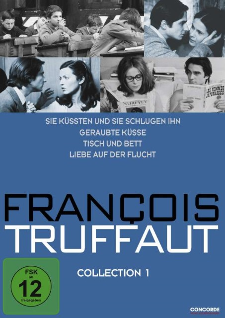 Francois Truffaut Collection 1 Jean-Pierre Léaud