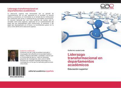 Liderazgo transformacional en departamentos académicos