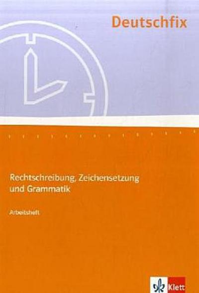 Deutschfix. Arbeitsheft