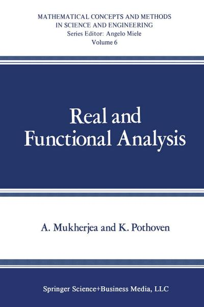 Real and Functional Analysis