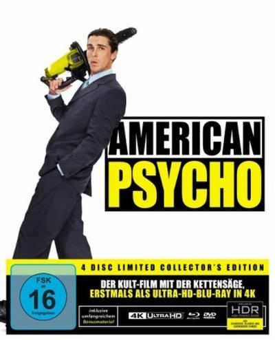 American Psycho 4K, 1 UHD-Blu-ray + 1 Blu-ray + 2 DVD + 1 Audio-CD (Special Edition)