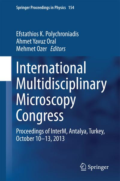 International Multidisciplinary Microscopy Congress