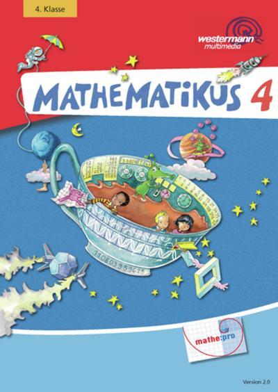 Mathematikus 4. CD-ROM für Windows Vista/XP/ME/NT/98/95