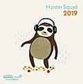 Hipster Squad 2019 GreenLine Mini-Broschürenkalender