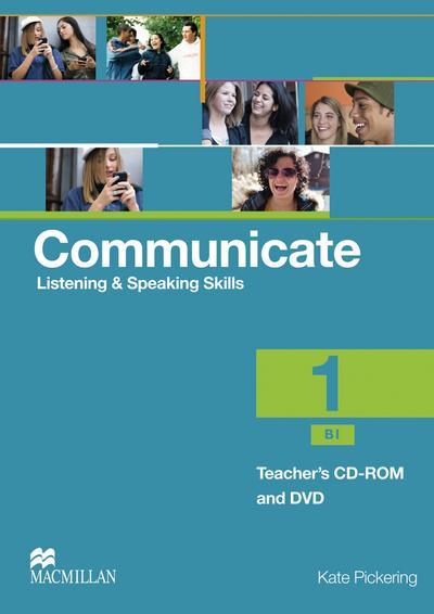 Communicate 01. Teacher's CD-ROM and DVD Package