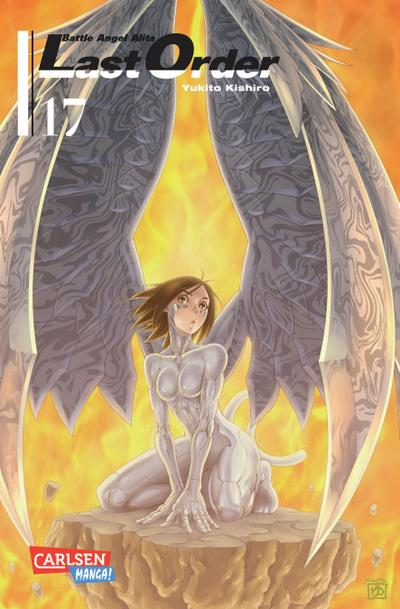 Battle Angel Alita - Last Order 17
