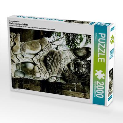 Ein Motiv aus dem Kalender Balis Steingesichter (Puzzle)