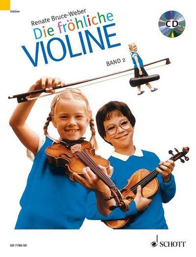 Die fröhliche Violine 02 mit CD