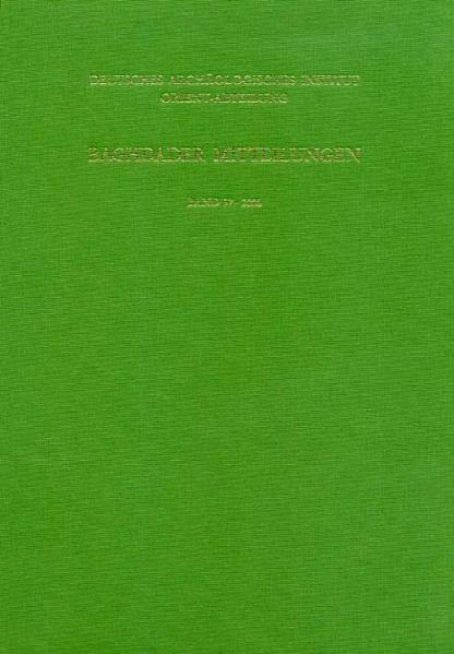Baghdader Mitteilungen 37,