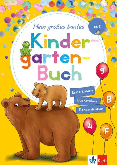 Klett Mein großes buntes Kindergarten-Buch