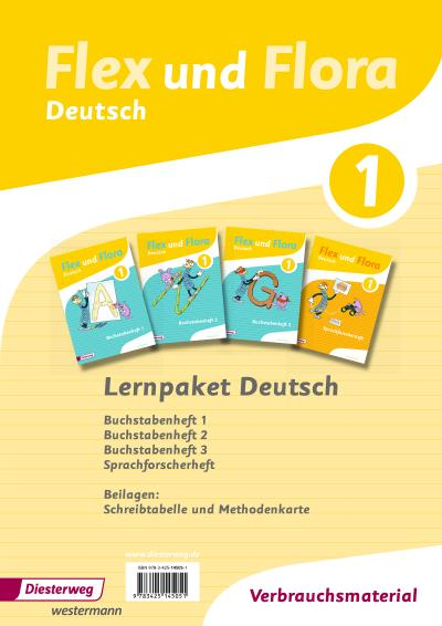 Flex und Flora / Ausgabe 2013: Flex und Flora: Paket Deutsch 1