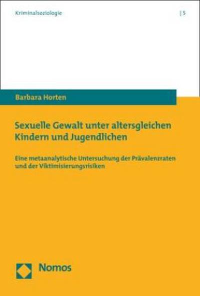 Sexuelle Gewalt unter altersgleichen Kindern und Jugendlichen