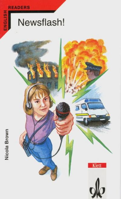Newsflash!: A week at a radio station. Englische Lektüre für das 3. Lernjahr - Klett - Taschenbuch, Englisch, Nicola Brown, A week at a radio station, A week at a radio station