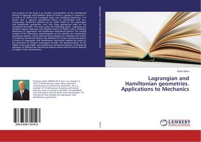 Lagrangian and Hamiltonian geometries. Applications to Mechanics