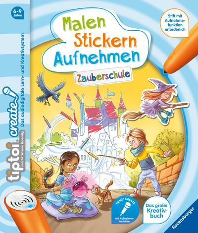 tiptoi® CREATE Malen Stickern Aufnehmen: Zauberschule