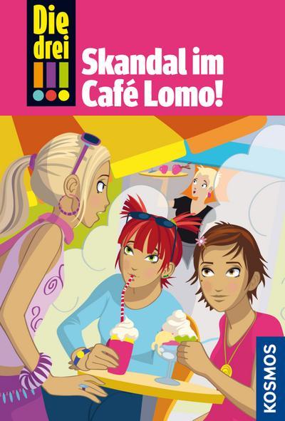 Die drei !!! 44, Skandal im Café Lomo (drei Ausrufezeichen)